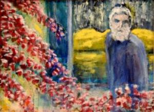 Zorba  35 x 45 cm    Olje på lerret