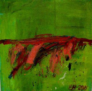 Hildring   2011  40 x 40 cm  Olje på lerret