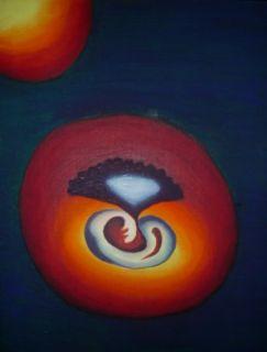 Kimen   2004  50 x 70 cm  Olje