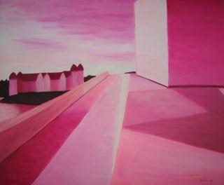 Pink opera   2010  60 x 70 cm  Olje