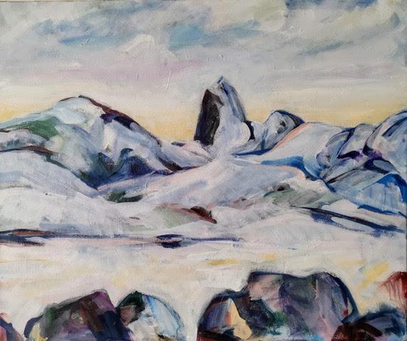 Reka 1 Vesterålen   Akryl   60 x50