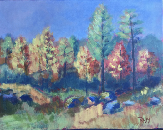 Høstglede      Akryl    40 x 50